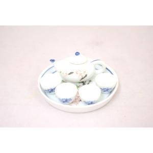 ミニチュア茶器セット 花|ryu