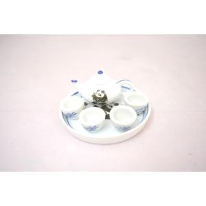 ミニチュア茶器セット パンダ|ryu