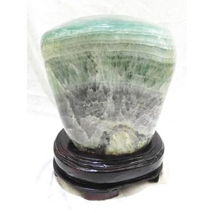 【天才の石】フローライト(蛍石) 【パワーストーン置物】 【一点物】|ryu
