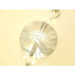 【メール便OK】 クリスタル 鳳凰 フェニックス 銀彫り 3色タイガーアイ 虎目石 天然石ストラップ ryu 03