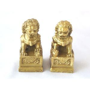 獅子 しし 銅製置物 魔除け|ryu|02