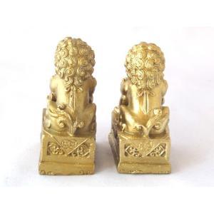 獅子 しし 銅製置物 魔除け|ryu|04