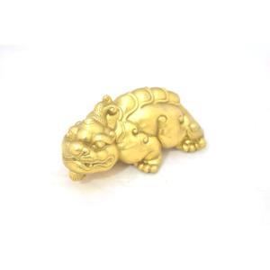 貔貅 ヒキュウ 銅製置物 中 単品 ryu