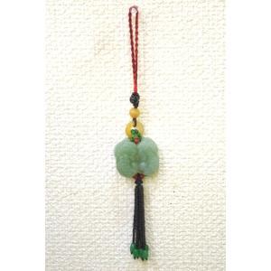 【メール便OK】 貔貅ペア アベンチュリン 黄玉 天然石吊るし物 中|ryu