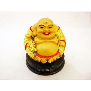 裕福 財運 富の象徴 笑佛様 布袋 笑い仏 笑仏 金運 ねり製置物 ryu