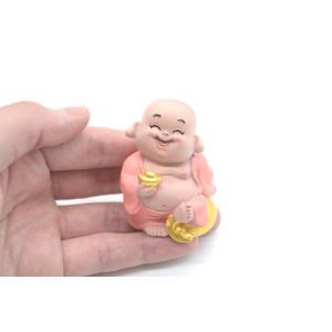 笑佛様 布袋 笑仏 彩色済み 選べる2種類 樹脂製置物 マスコット|ryu|10