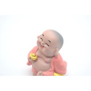 笑佛様 布袋 笑仏 彩色済み 選べる2種類 樹脂製置物 マスコット|ryu|11