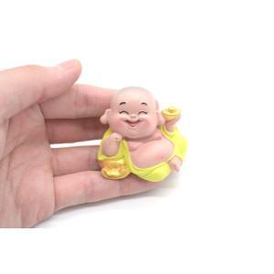 笑佛様 布袋 笑仏 彩色済み 選べる2種類 樹脂製置物 マスコット|ryu|05