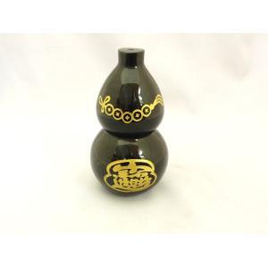 ひょうたん 瓢箪 ブラックオニキス 天然石製置物|ryu