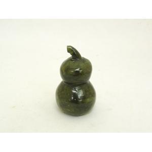 ひょうたん 瓢箪 緑玉石 天然石製置物|ryu