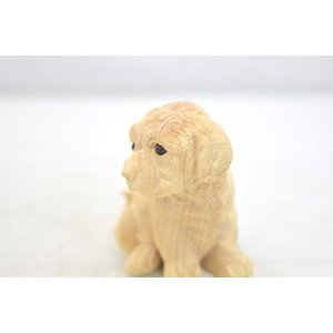 戌 犬 イヌ 木彫り 木製置物|ryu|05