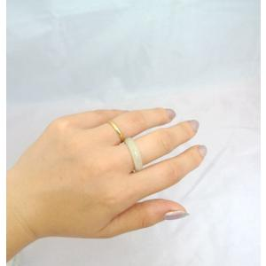 翡翠 ヒスイ ジェイド 指輪 天然石リング 選べるサイズ 14号 15号|ryu|04