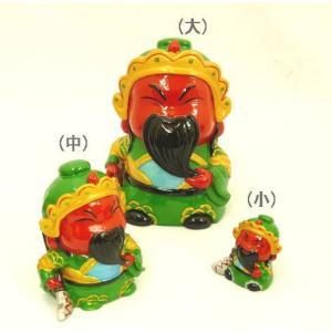 関羽 中 アジアの神々 かわいい人形置物|ryu