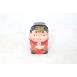 媽祖 まそ アジアの神々 かわいい人形置物 中|ryu