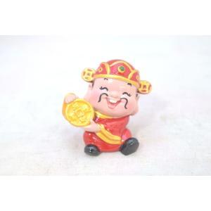 財神 財の神様 人形置物 元宝 ざいしん 小|ryu