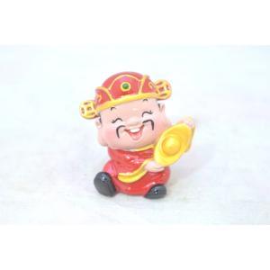 財神 財の神様 人形置物 元宝 ざいしん 中|ryu