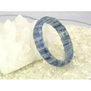 【純粋・清純・正常】カイヤナイト(カイアナイト・藍晶石)パワーストーンブレスレット【幅12mm】|ryu