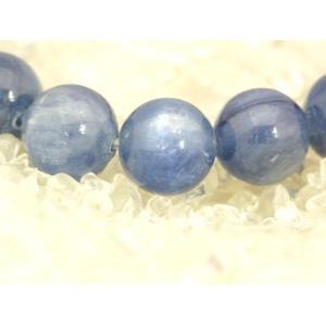 【純粋・清純・正常】カイヤナイト(カイアナイト・藍晶石)パワーストーンブレスレット【10mm玉】|ryu|02