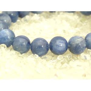 【純粋・清純・正常】カイヤナイト(カイアナイト・藍晶石)パワーストーンブレスレット【10mm玉】|ryu|03