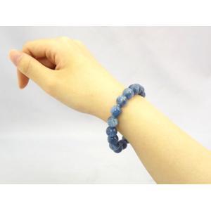 【純粋・清純・正常】カイヤナイト(カイアナイト・藍晶石)パワーストーンブレスレット【10mm玉】|ryu|05