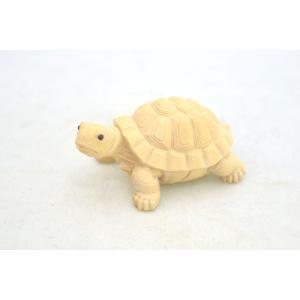 亀 カメ かめ 木彫り 木製置物 長寿 健康運|ryu