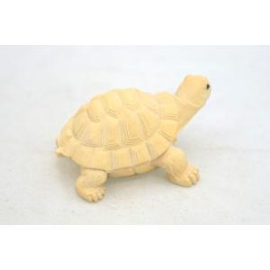 亀 カメ かめ 木彫り 木製置物 長寿 健康運 ryu 03