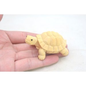 亀 カメ かめ 木彫り 木製置物 長寿 健康運 ryu 04