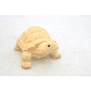 亀 カメ かめ 木彫り 木製置物 長寿 健康運 ryu 05
