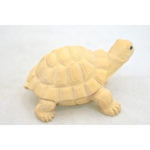 亀 カメ かめ 木彫り 木製置物 長寿 健康運 ryu 06