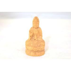 観音菩薩 仏象 木彫り製置物 苦悩を救う|ryu