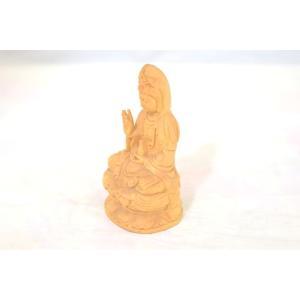 観音菩薩 仏象 木彫り製置物 苦悩を救う|ryu|02