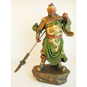ビジネスの神様/関羽置物/開運・風水インテリア置物/ねり製|ryu