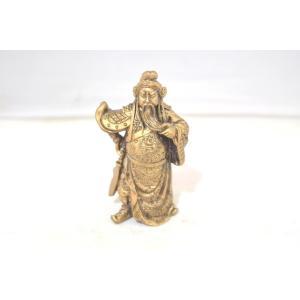 関羽 樹脂製置物 アンティーク調 商売の神様 小|ryu