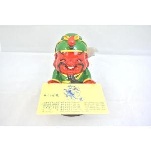 関羽 商売の神様 名刺 店舗カード 人形置物|ryu