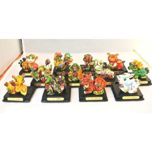 十二支 干支置物 カラフル 樹脂製 選べる12種類 招福 開運|ryu