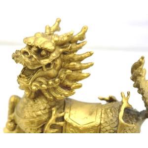 麒麟 きりん 銅製置物 家庭円満 対人関係改善|ryu|06