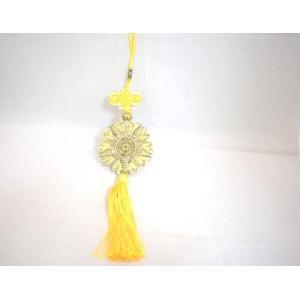 蝙蝠 コウモリ 福飾り 根付け 黄色 幸福の象徴|ryu