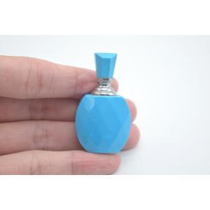 ターコイズ トルコ石 香水瓶 カット加工 天然石置物 1点もの  魔除け 魅力 旅のお守り|ryu|04