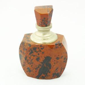 恋愛運 魅力 魔除け 安心安定 / ジャスパー香水瓶 天然石置物 / 1点もの|ryu