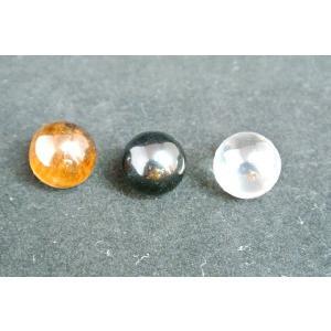 水晶 オニキス タイガーアイ 球体 お守り 選べる三種類 小|ryu