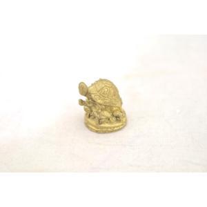【メール便OK】 亀 カメ かめ インテリア ミニチュア 銅製|ryu