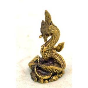 【メール便OK】 竜 蛇神 ナーガ ミニチュア 銅製置物|ryu|02