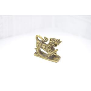 【メール便OK】 獅子 シンハー ミニチュア 銅製置物|ryu