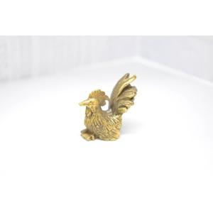 【メール便OK】 干支 酉 鶏 とり インテリア ミニチュア 銅製|ryu