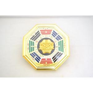 八卦 獅子 十二支 気の安定盤 16cm|ryu