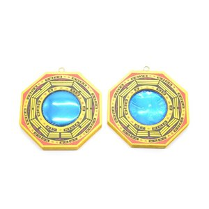【メール便可】八卦鏡 凸面鏡 凹面鏡 2個セット 小 風水 開運|ryu