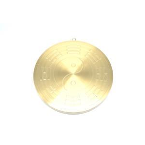 山海鎮 19cm 丸形 八卦鏡 銅盤|ryu|02
