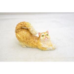 猫 ネコ ねこ 七宝焼き 小物入れ 幸福を運ぶ|ryu