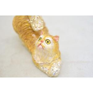 猫 ネコ ねこ 七宝焼き 小物入れ 幸福を運ぶ|ryu|05