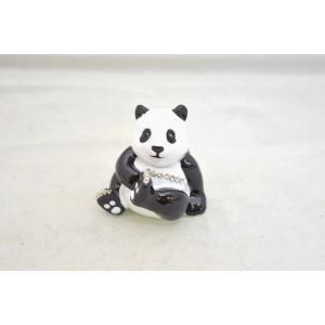 パンダ 熊猫 七宝焼き 小物入れ 金運 恋愛運|ryu